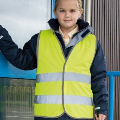 Personalised Hi-Visibility kids Safety Vest (RS200B)